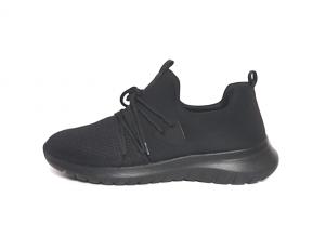 Lage sneaker van Remonte in zwarte textiel, uitneembaar voetbed, G-breedte (breed) - €64.95